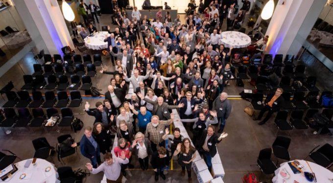 Teilnehmer*innen RENN.tage 2018 in Berlin, Bildquelle: Svea Pietschmann, Rat für-Nachhaltige Entwicklung