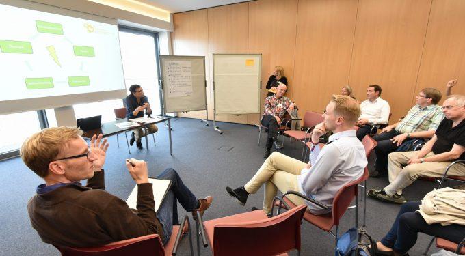 """Energie-Workshop 2 – """"Beteiligung an Energieerzeugungsanlagen im Quartier"""", Bildquelle: Stadt Oldenburg/Frick"""