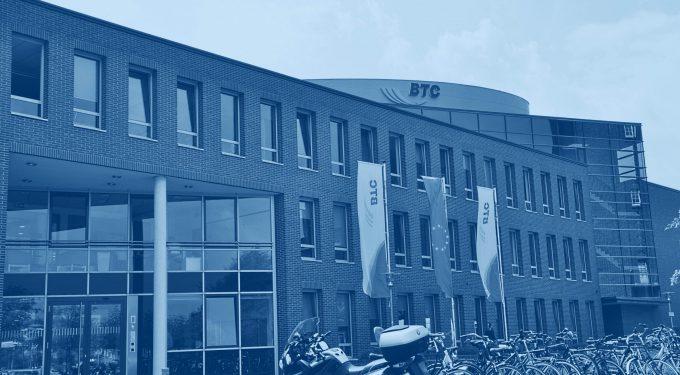 Hauptgebäude der BTC AG, Quelle: BTC AG