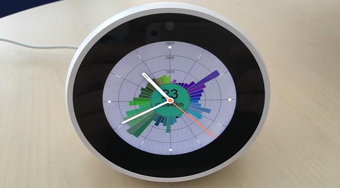 Abbildung 3: Prototyp einer Energieuhr, Bildquelle: OFFIS e.V.