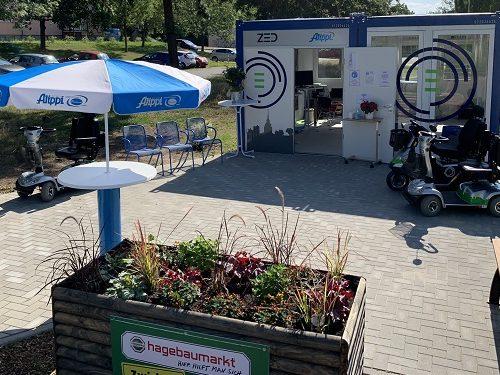 Mobilitätstation im Quartier Zwickau Marienthal, Bildquelle: Stadt Zwickau