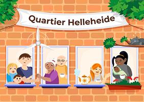 Quartier Helleheide, Bildquelle: Quantumfrog GmbH